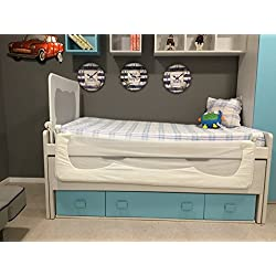 Barrera de cama para bebé, 90 x 66 cm.