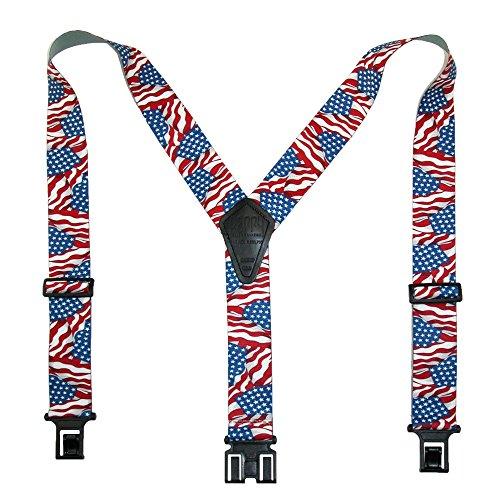 Perry Suspenders Mens Elastic Hook End 2