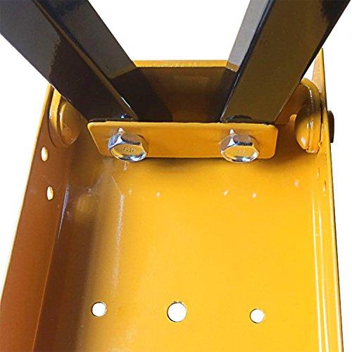 FEMOR 2 Stück Falt-Arbeitsböcke Klappbock bis 120kg belastbar platzsparend - 5