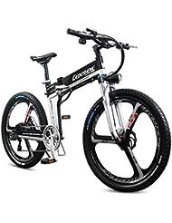 BNMZX Bicicleta eléctrica Plegable, Bicicleta de montaña - 26