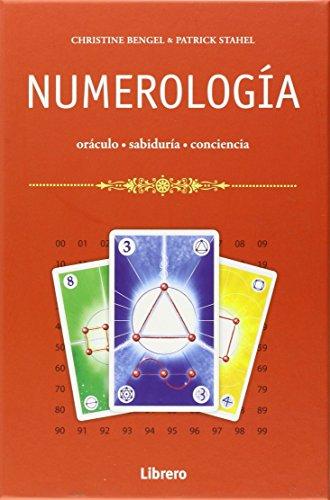 Caja numerología, libro + cartas