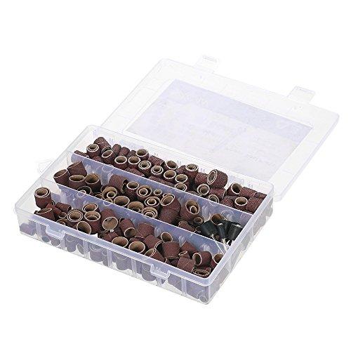 KKmoon 338pcs Rotary Tool Zubehör Set Schleifen Schleifen Polieren Zubehör Kit mit Aufbewahrungsbox für Dremel Grinder