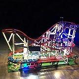 NURICH Licht Set für Lego 10261 Achterbahn, USB Stecker, passen zum Lego 10261
