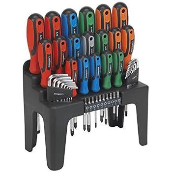Draper Tools 865 44 44pc S Driver Set Stand Amazon Co Uk
