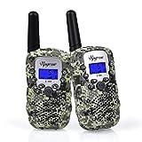 Upgrow Walkie Talkies 8 Channel 2 Way Radio Kids Toys Wireless 0.5W PMR446