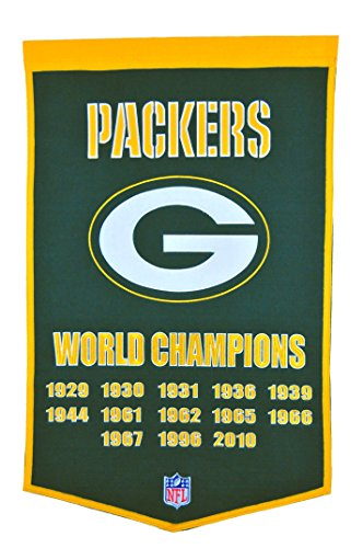 Bay Packers Dynasty Banner ()