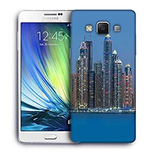Snoogg Tall Buildings Designer Protective Phone Back Case Cover for Samsung Galaxy ON5