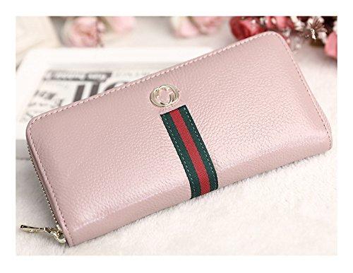 145812f6a8567 Keshi Leder Cool geldbörse damen lang Pink -diespatzl.de