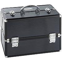 Beautify Professional Large Elegant Black Beauty Box