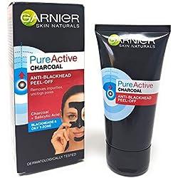 Garnier Pure Active CHARCOAL Anti-Blackhead Peel-Off Negro cepillo de cabello