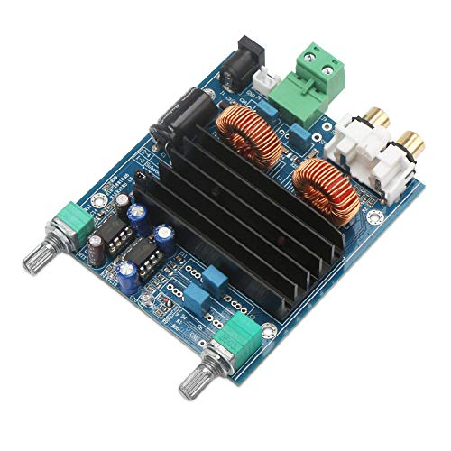 Droking Carte d'amplificateur numérique, Module de subwoofer à Un Canal pour amplificateur de Puissance Audio stéréo 100W TPA3116D2, Classe de Basse Grave woofer de Classe D Pleine Carte AMP Mono