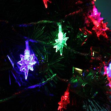 MEIWEI 7M 30-LED grande a forma di cucchiaio colorato luci fairy light/LED vacanza ornamenti (220V)