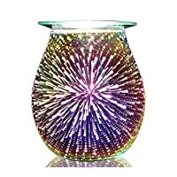 Astin of London Electric Wax Burner Melt Warmer Lamp - 3D Firework Design 14cm
