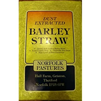Norfolk Pastures Dust Extracted Barley Straw (Bulk Bale) (approx 5+kg) Norfolk Pastures Dust Extracted Barley Straw (Bulk Bale) (approx 5+kg) 51u1VFQFV6L