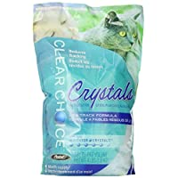 Clear Choice Silica Crystal Cat Litter, White, 3.8 Lites/1.8 kg