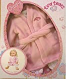 Tiny Tears outfit - Time for Bed - fleece dressing gown and pyjamas
