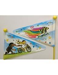 Fahrradwimpel Sicherheitswimpel Janosch