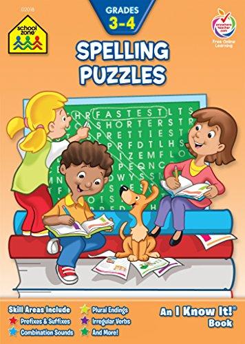 Spelling Puzzles: Grade 3-4