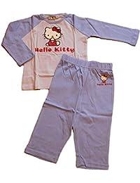 Pijama largo algodón Hello Kitty 12/24 Meses