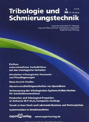 Tribologie und Schmierungstechnik [Jahresabo]