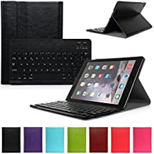 iPad Air 1 Funda con Teclado Bluetooth ,CoastaCloud iPad Air 1 Funda Cubierta Protectora con Teclado Inalambrico QWERTY Español para Apple iPad Air 1 (A1474, A1475, A1476)Negro