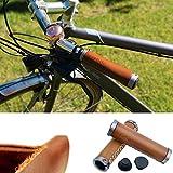 let-going Fahrrad Vintage Retro Nature Leder handgefertigt Lenkergriffe 7/20,3cm