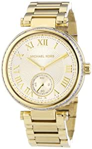 Michael Kors Damen-Armbanduhr Analog Quarz Edelstahl MK5867
