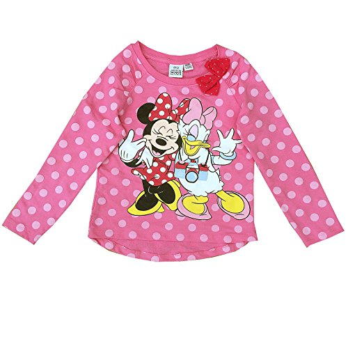 Disney - Camiseta de Manga Larga - Manga Larga - para niña
