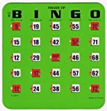 Regal Spiele grün Fingertip Shutter Slide Bingo Karten
