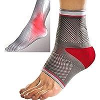 Fußbandage Gr. S mit Gelpolster | Fußgelenkbandage Knöchelbandage Sprunggelenk ~cf102 preisvergleich bei billige-tabletten.eu