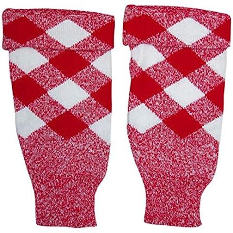 Rosso e Bianco Kilt Tubo Topers Kilt scozzese Highland Wear