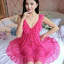 SMSM Mujer Otoño Transparente Red Hilo Pijamas Sex Encaje Arnés Lencería Extrema Tentación Ropa Interior Sex Lencería Sex,XXL