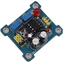 10 unids NE555 Kit de Generador de Pulso DIY Ciclo de Trabajo y Módulo de Frecuencia