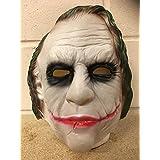 Der Joker - Halloween Latex Kostüm Verkleidung Kostüm Outfit - universell Größe Batman