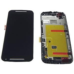 Motorola Moto G2 XT1068 Display LCD Touchscreen Glas Rahmen Gehäuse Cover - ToKa-Versand®