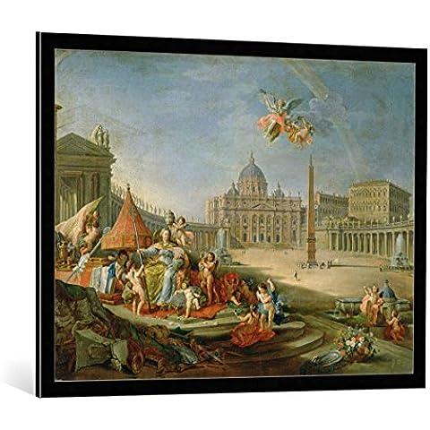 Cuadro con marco: Giovanni Paolo Pannini or Panini