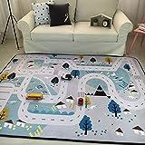 VClife® Teppiche Polyester Matte Kinderteppich Baby Krabbeldecke Kinder Spielteppich Geschenk
