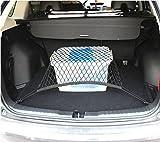 9 MOON Car Universal Flexible Nylon Rear Cargo Organizer Car Trunk Storage Net fit Most SUV and sedan car