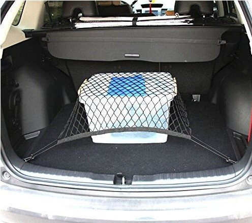 9 MOON® Car Universal Flexible Nylon Rear Cargo Organizer Car Trunk Storage...