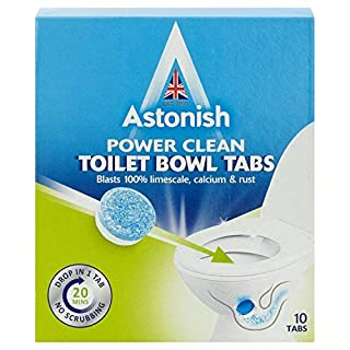 Astonish Toilet Bowl Cleaner Removes Limescale Remover Limescale Cleaner 10 Tabs