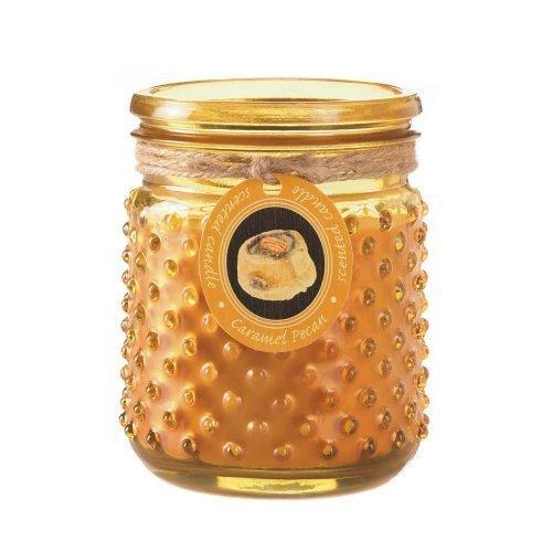 Caramel-Pecan-Hobnail-Jar-Candle
