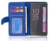 Sony Xperia X-Performance Hülle in BLAU von Cadorabo -