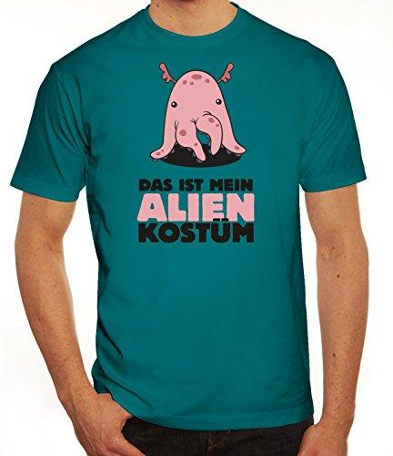 ShirtStreet Fasching Karneval Herren T-Shirt mit Das ist -