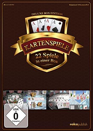 Kartenspiele 22 in 1 Deluxe Box Edition (PC)