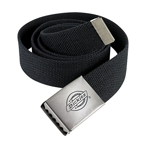 Dickies - Cintura di Tela da Uomo (Taglia Unica) (Nero)