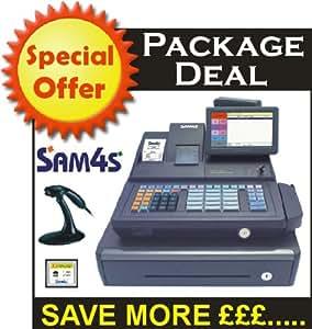 elepos sam4s sps 520 handheld scanner package deal raised keyboard computers. Black Bedroom Furniture Sets. Home Design Ideas
