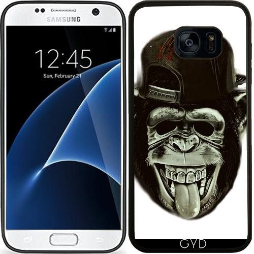 silicone-case-for-samsung-galaxy-s7-sm-g930-hipster-monkey-ape-chimpanzee-by-wonderfuldreampicture