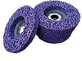 5 x Rostio CSD Scheibe 125 mm Lila | purple für Winkelschleifer | Flex