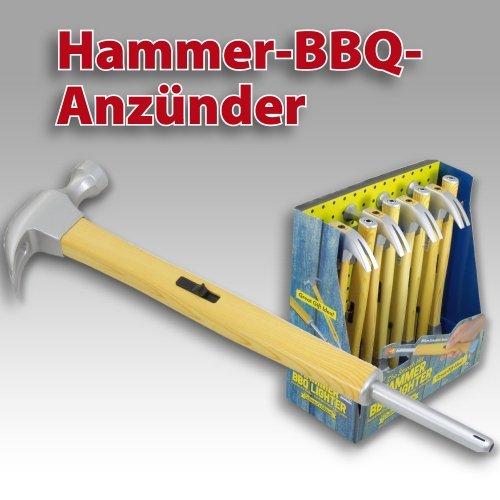 1 x Feuerzeug,Stabfeuerzeug,Kaminanzünder Hammer ca 30 cm