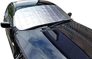 aluminium pare brise contre le gel ice snow coque de protection de voiture 1 3 5. Black Bedroom Furniture Sets. Home Design Ideas
